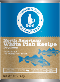Do Only Good (D.O.G.) Canned Dog Food White Fish -13oz
