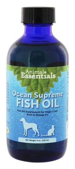 Ocean Supreme Fish oil 4 oz by Animal Essentials