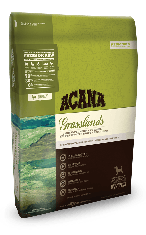 Acana Dog Food Grasslands 25#