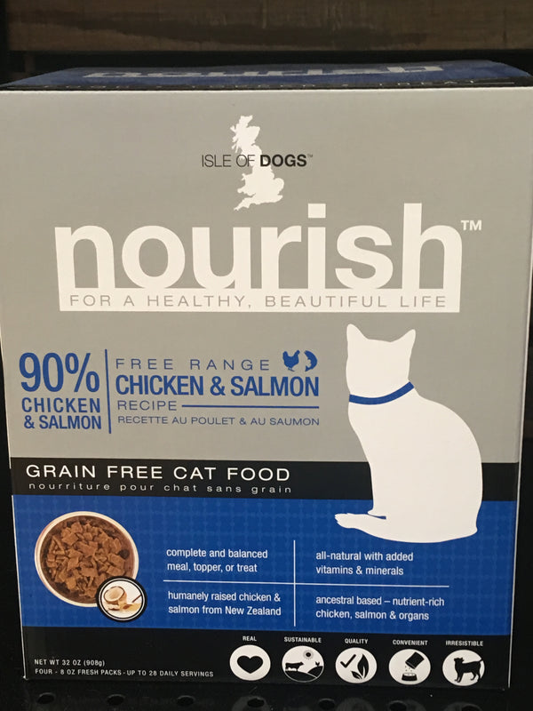 Nourish Cat Food Chicken and Salmon 2 lb