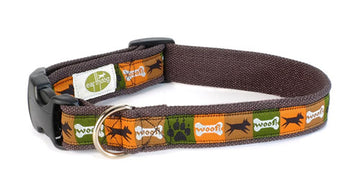 EarthDog Sage Hemp Collar M