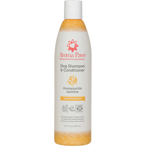 Aroma Paws Dog Shampoo and Conditioner for Dry Skin and Dandruff 13.5 oz
