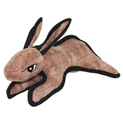 Tuffy Dog Toy Brown Rabbit