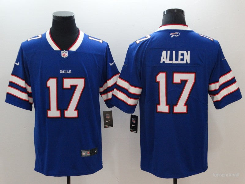 Men's Buffalo Bills Josh Allen  Royal Game Player Jersey