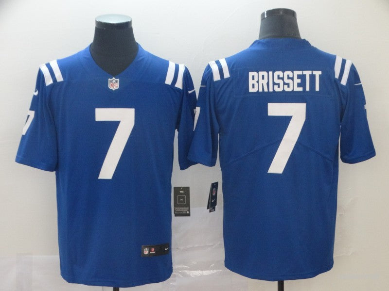 Men's Indianapolis Colts Jacoby Brissett Royal Legend Jersey