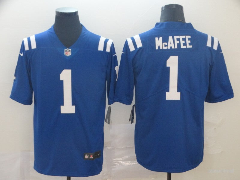 Men's Indianapolis Colts Pat McAfee Royal Game Player Jersey