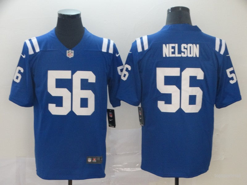 Men's Indianapolis Colts Quenton Nelson Royal Game Player Jersey
