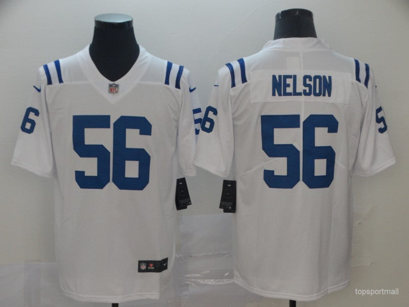 Men's Indianapolis Colts Quenton Nelson White Game Player Jersey