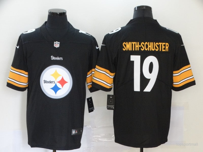 Men's Pittsburgh Steelers JuJu Smith-Schuster Black Game Jersey