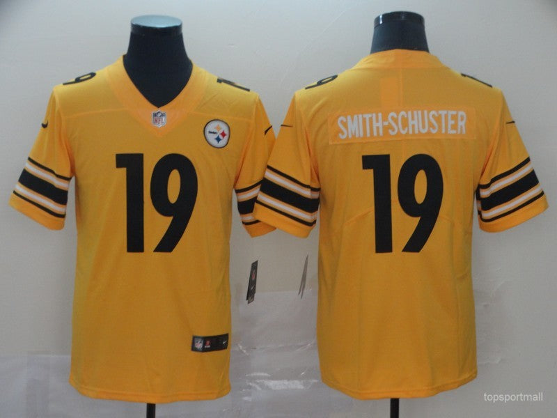 Men's Pittsburgh Steelers JuJu Smith-Schuster  Yellow Game Jersey