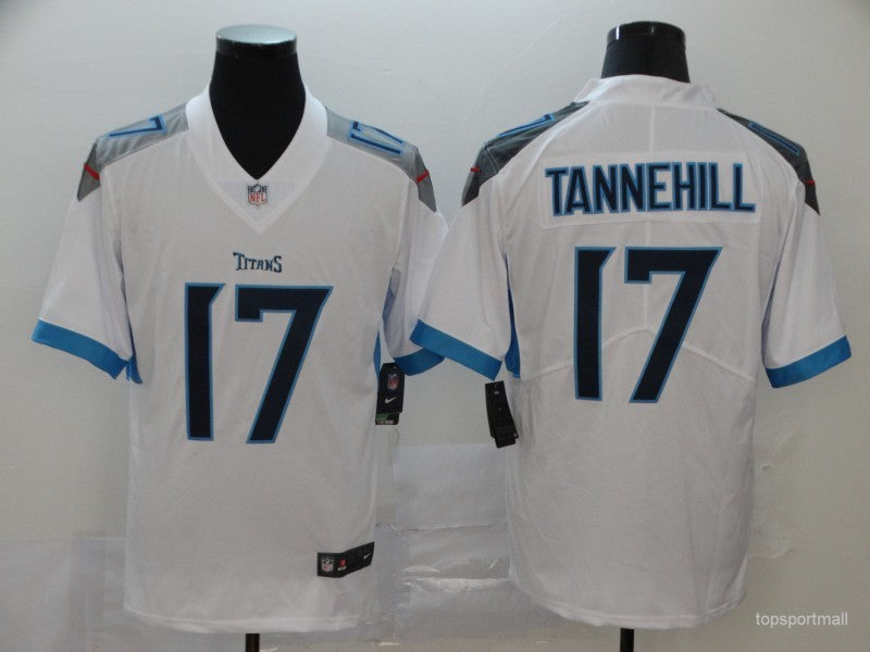 Men's Tennessee Titans Ryan Tannehill White Player Game Jersey