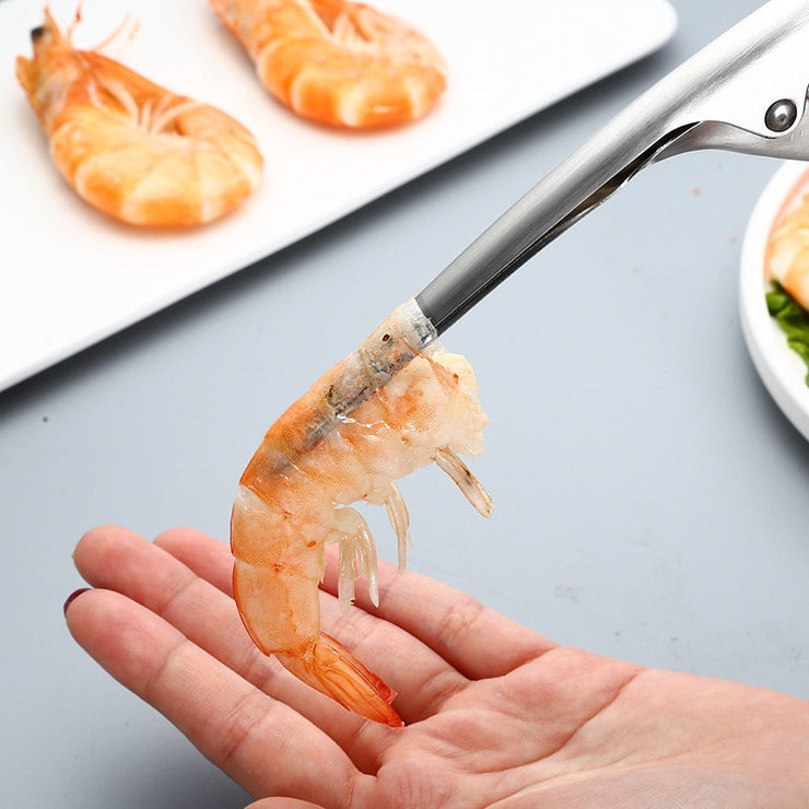 Portable Stainless Steel Shrimp Peeler
