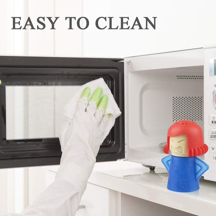 Kitchen Mama Microwave Steam Cleaner