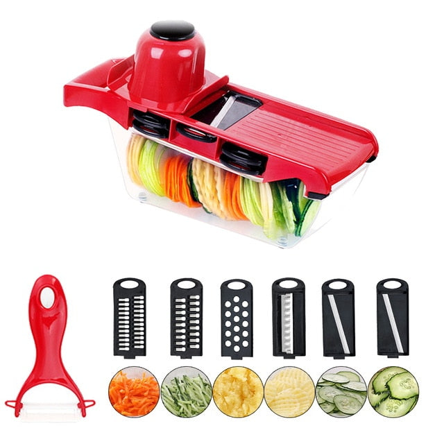 Vegetable Cutter Manual Food Processors