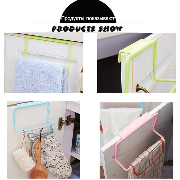 Kitchen Over Door Towel Organizer