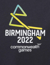 Load image into Gallery viewer, B2022 Iron Grey small logo tee - Birmingham 2022 Commonwealth Games Shop