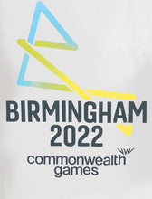 Load image into Gallery viewer, B2022 Women's White Core Logo Tee - Birmingham 2022 Commonwealth Games Shop