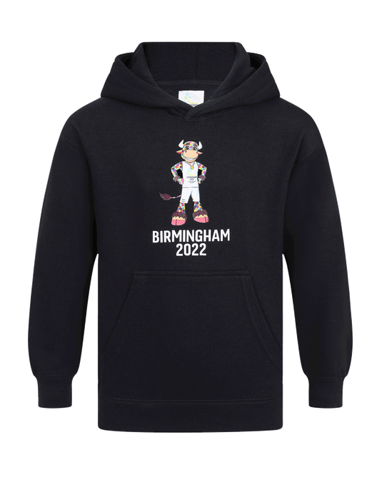 Perry Kids Navy Hoodie - Birmingham 2022 Commonwealth Games Shop