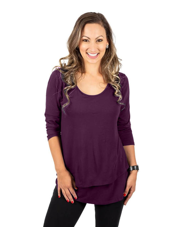Britt Maternity & Nursing Top