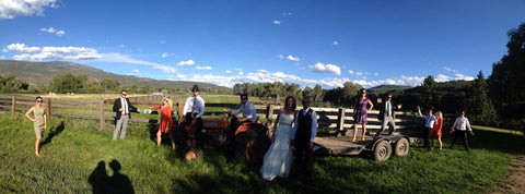Getting Hitched at Rock Bottom Ranch