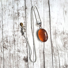 "Load image into Gallery viewer, ""Amber-osia"": Baltic Amber Necklace (E)"