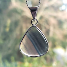 "Load image into Gallery viewer, ""I'm Fluored"": Fluorite Necklace (F)"