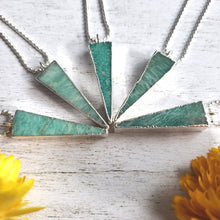 "Load image into Gallery viewer, ""In Spike Of Everything"": Amazonite Necklaces"
