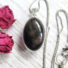"Load image into Gallery viewer, ""Volcan-Oh My!"": Obsidian Necklace (C)"