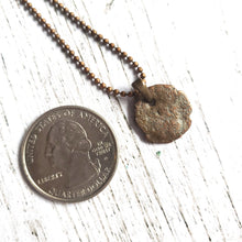 "Load image into Gallery viewer, ""When in Rome"": Ancient Roman Coin Necklace (E)"