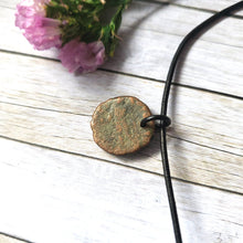 "Load image into Gallery viewer, ""When in Rome"": Ancient Roman Coin Necklace (H)"