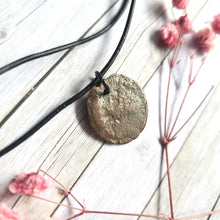 "Load image into Gallery viewer, ""When in Rome"": Ancient Roman Coin Necklace (I)"