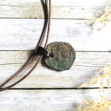 "Load image into Gallery viewer, ""When in Rome"": Ancient Roman Coin Necklace (Constans)"