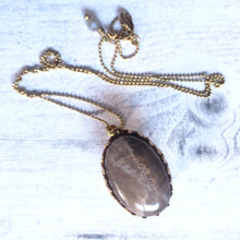 "Load image into Gallery viewer, ""Feldsparring and Jousting"": Moonstone Necklace"