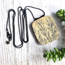 "Load image into Gallery viewer, ""You've Got a Fern in Me"": Dendritic Sandstone Necklace"