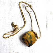 "Load image into Gallery viewer, ""Stormy Weather"": Pietersite Necklace"
