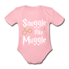 Snuggle this Muggle korte mouwen SPOD - light pink
