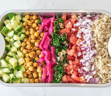 Load image into Gallery viewer, The Colourful Shawarma Family Bowl