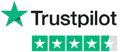 Rated 4.4 out 5.0 on Trustpilot