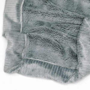 Saranoni Gray Lush Toddler Blanket