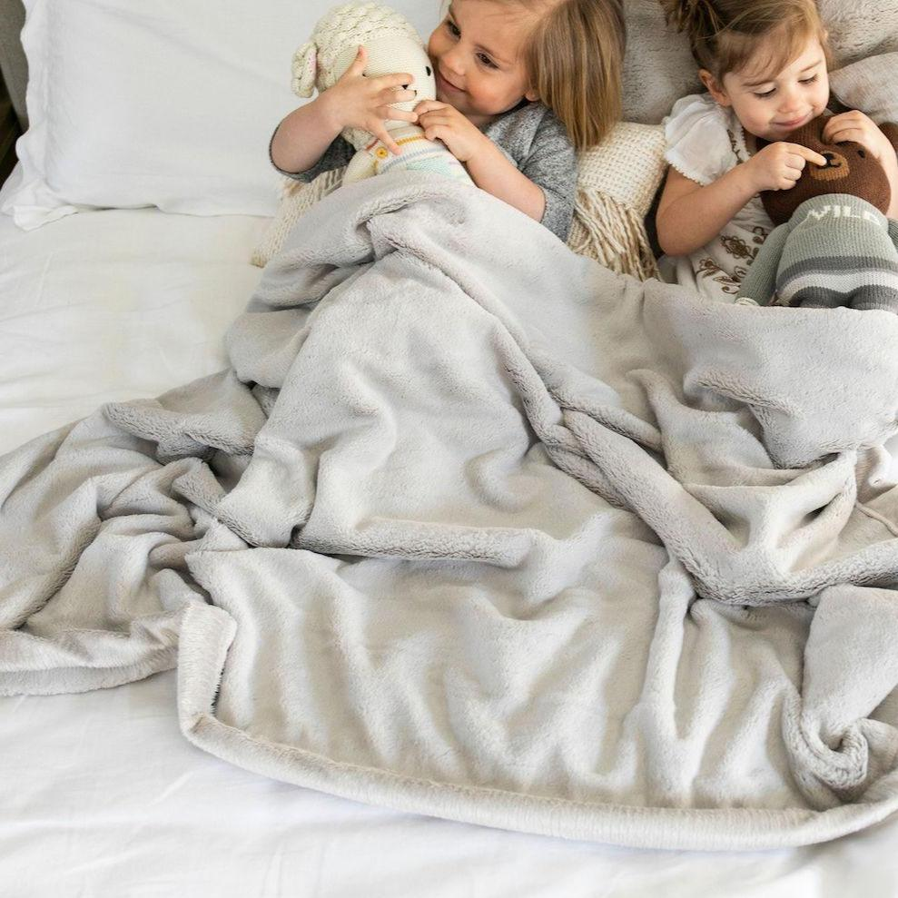 Saranoni Feather Lush Toddler Blanket