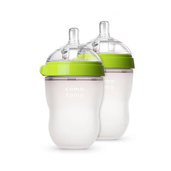Green Double Pack Baby Bottle - 8 oz.