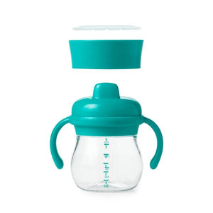 TRANSITIONS SIPPY CUP SET - 6 OZ - TEAL