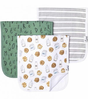 Burp Cloth - Chip Set