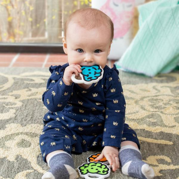 Brain Teether Blue