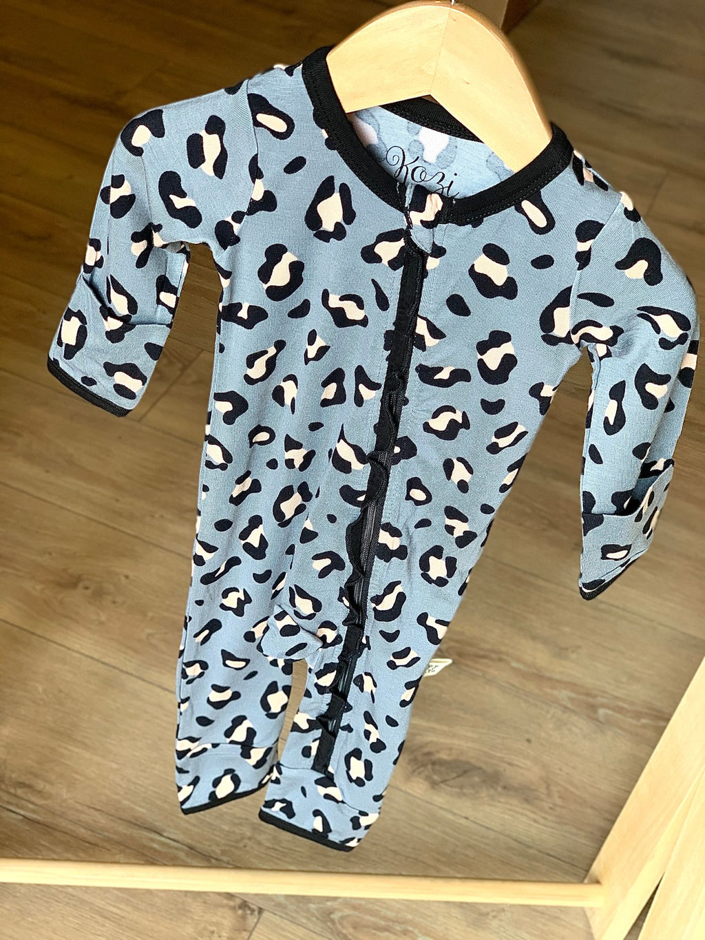 Coverall Lana Leopard Grey