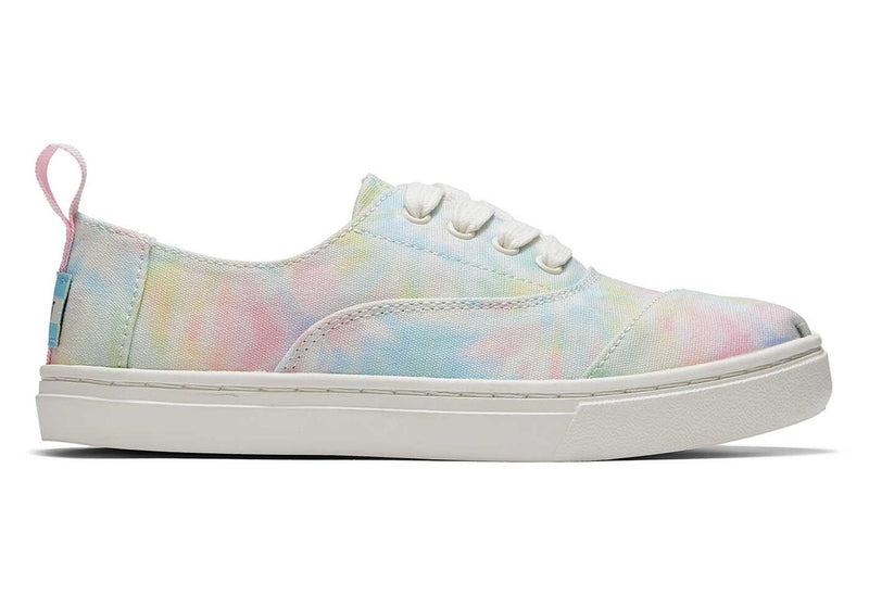 White Tie Dye Canvas YT