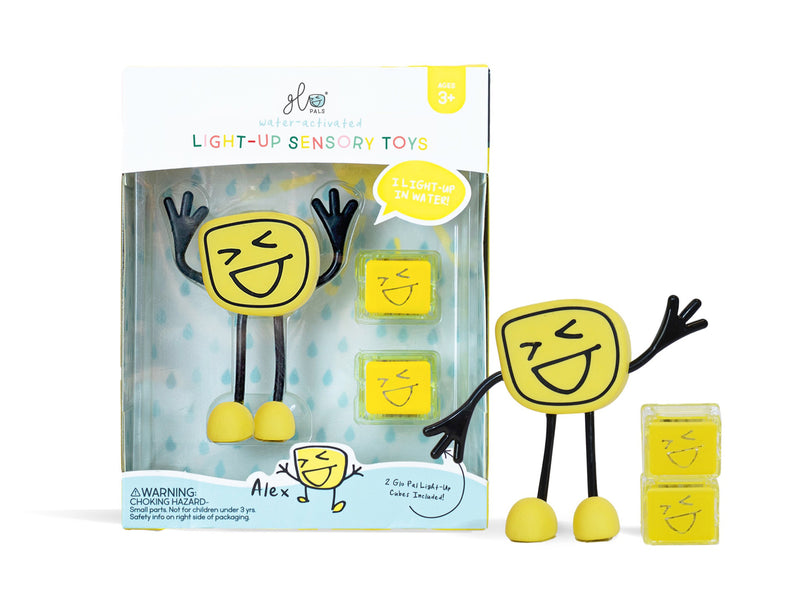 Glo Pal Character Yellow