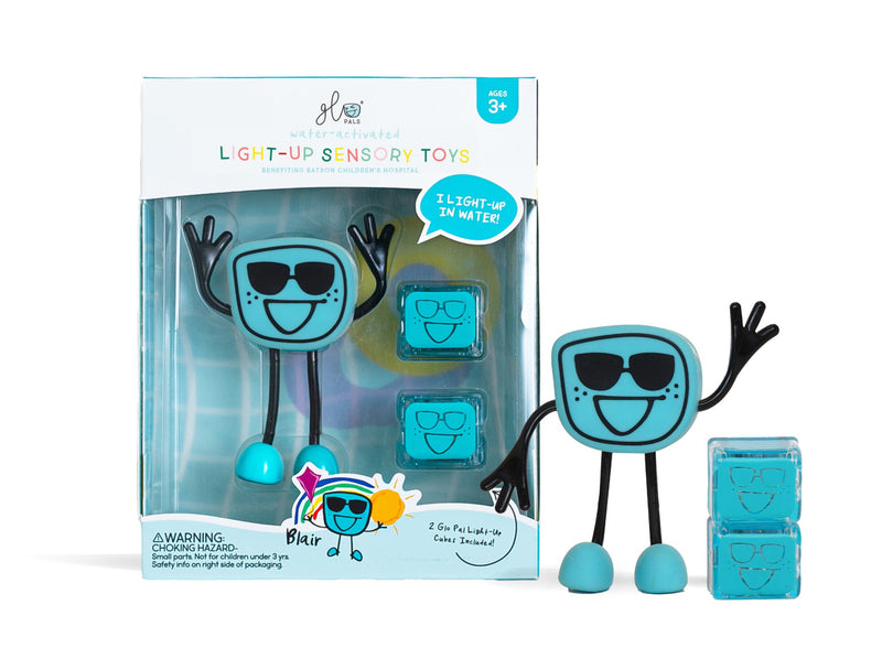 Glo Pal Character Blue