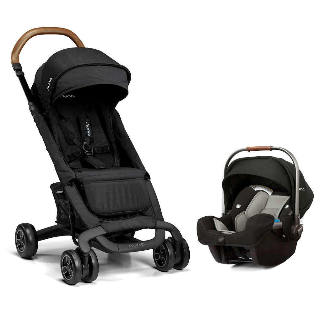Nuna Pepp Next Travel System with MagneTech Secure Snap + Pipa Infant Car Seat