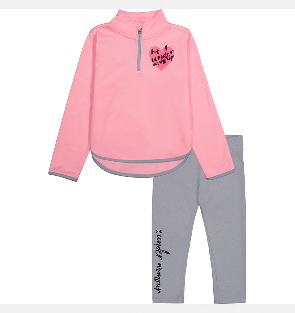 UA JOGGER SET PINK CRAZE
